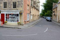 Corsham town centre Royalty Free Stock Photography