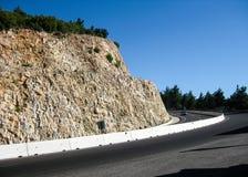 Corsia veloce nelle montagne Fotografie Stock Libere da Diritti