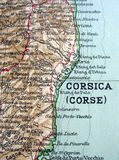 Corsica. The way we looked at Corsica in 1949 Royalty Free Stock Images