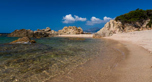 Corsica beach Royalty Free Stock Images