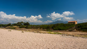 Corsica beach Stock Photo