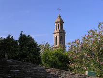 Corsica bell tower Royalty Free Stock Photography