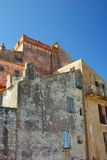Corsica Building. Rustic buildings in Bonifacio, island of Corsica southern France Royalty Free Stock Photography