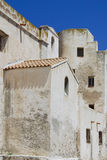 Corsica Building. Rustic building in Bonifacio, island of Corsica southern France Royalty Free Stock Photos