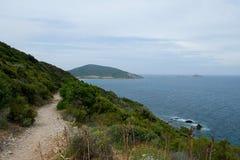 Corsica, Cap Corse Royalty-vrije Stock Foto's