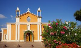 Corsica church Royalty Free Stock Photo