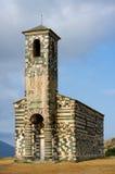 Corsica church Stock Image