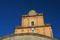 Corsica church. Corsica  church on eastern coast Royalty Free Stock Images