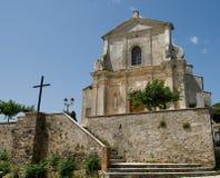 Corsica, church Stock Photos