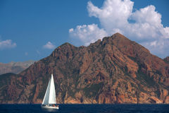 Corsica coast Stock Photography