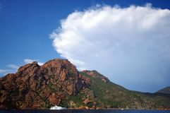 Corsica coast Royalty Free Stock Photos