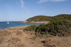 Corsica, Corse, nakrętka Corse, Górny Corse, Francja, Europa, wyspa Zdjęcie Stock