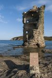 Corsica, Corse, nakrętka Corse, Górny Corse, Francja, Europa, wyspa Zdjęcia Royalty Free