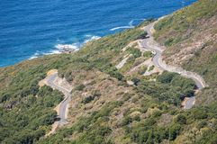 Corsica, Corse, nakrętka Corse, Górny Corse, Francja, Europa, wyspa Zdjęcia Stock
