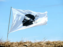 corsica flaga Fotografia Royalty Free