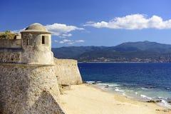 Corsica, France at Citadel Miollis Royalty Free Stock Image