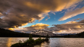 corsica góry creno de France lac jeziorne halne góry zbiory wideo
