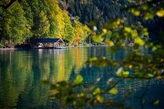 corsica góry creno de France lac jeziorne halne góry Obrazy Stock