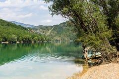 corsica góry creno de France lac jeziorne halne góry Zdjęcie Stock