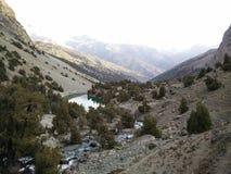 corsica góry creno de France lac jeziorne halne góry Obraz Stock