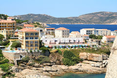 Corsica Hotel. Stock Photography