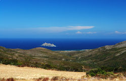 Corsica island barcaggio. Barcaggio island near corsica coast Royalty Free Stock Images