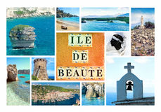 Corsica - The Island of Beauty, France Stock Image