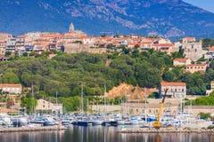 Corsica island, France. Porto-Vecchio town Royalty Free Stock Photo