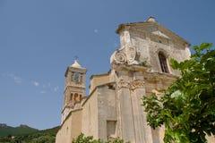 Corsica, kerk Royalty-vrije Stock Foto