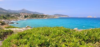 Corsica landscape Royalty Free Stock Photos