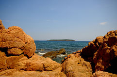 Corsica landscape (france) Royalty Free Stock Images