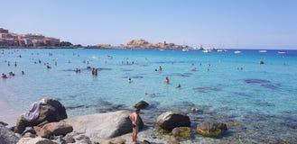 Corsica Landscape stock photo