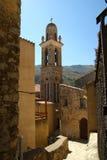 Corsica landscape - village stock image