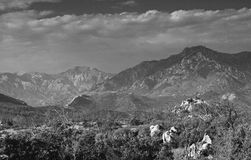 Corsica mountain's in black and white Stock Images