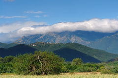Corsica mountains Stock Photo