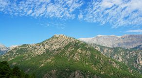 Corsica mountains Stock Images