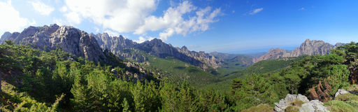 Corsica mountains Royalty Free Stock Photography