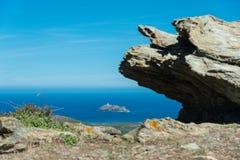 Corsica north coas Royalty Free Stock Photo