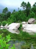 corsica rzeka Fotografia Stock