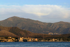 Corsica st florent bay Royalty Free Stock Image