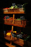 Corsica stall of vegetables Royalty Free Stock Image