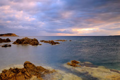 Corsica sunrise Stock Photo