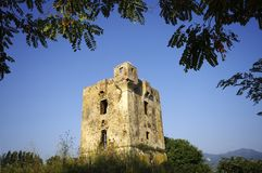 Corsica tower Royalty Free Stock Photography