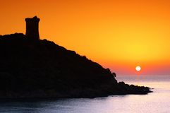 Corsica tower Stock Photos