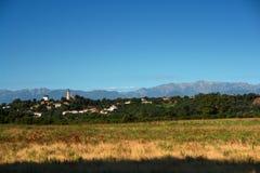 Corsica van Alistro vuurtoren Stock Afbeeldingen