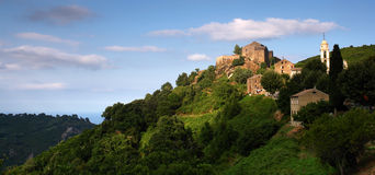 Corsica village Stock Image