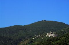 Corsica village Royalty Free Stock Images