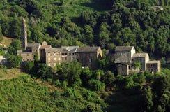 Corsica village Stock Photos