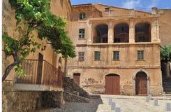 Corsica village - Balagne Royalty Free Stock Image