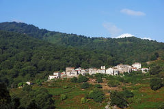 Corsica village Royalty Free Stock Image